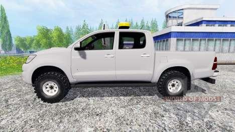 Toyota Hilux [convoi agricole] for Farming Simulator 2015