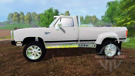 Dodge Power Ram W350 for Farming Simulator 2015