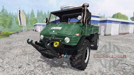Mercedes-Benz Unimog U84 for Farming Simulator 2015