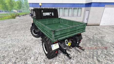 Mercedes-Benz Unimog U84 for Farming Simulator 2015