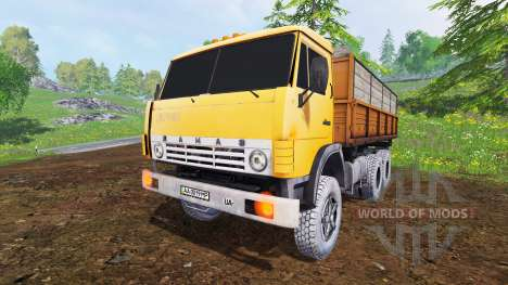 KamAZ-55102 v2.0 for Farming Simulator 2015