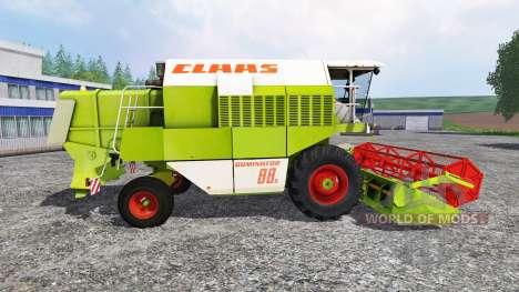 CLAAS Dominator 88S for Farming Simulator 2015