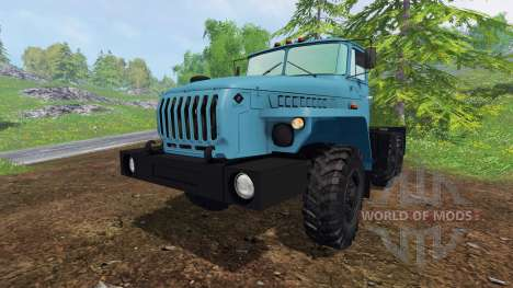 Ural-4320-1921-60M v1.0 for Farming Simulator 2015