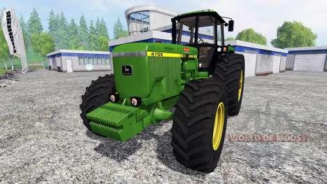 John Deere 4755 v2.1 for Farming Simulator 2015