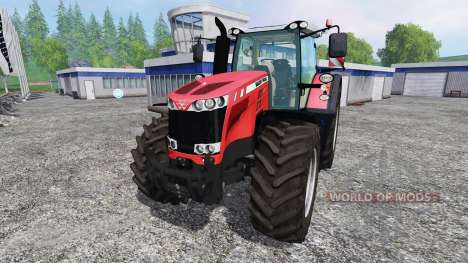 Massey Ferguson 8737 for Farming Simulator 2015