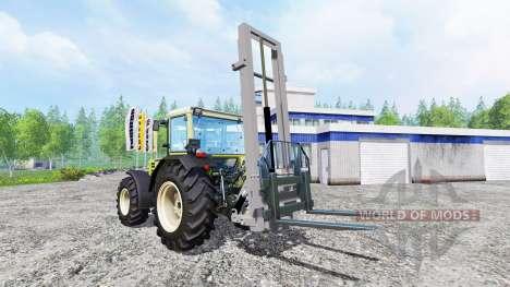 Mounted hydraulic lift for Farming Simulator 2015