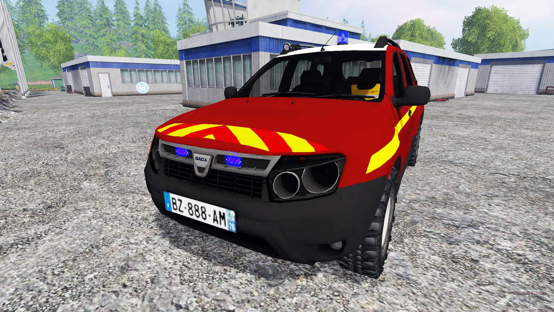 dacia duster vlhr for farming simulator 2015. Black Bedroom Furniture Sets. Home Design Ideas