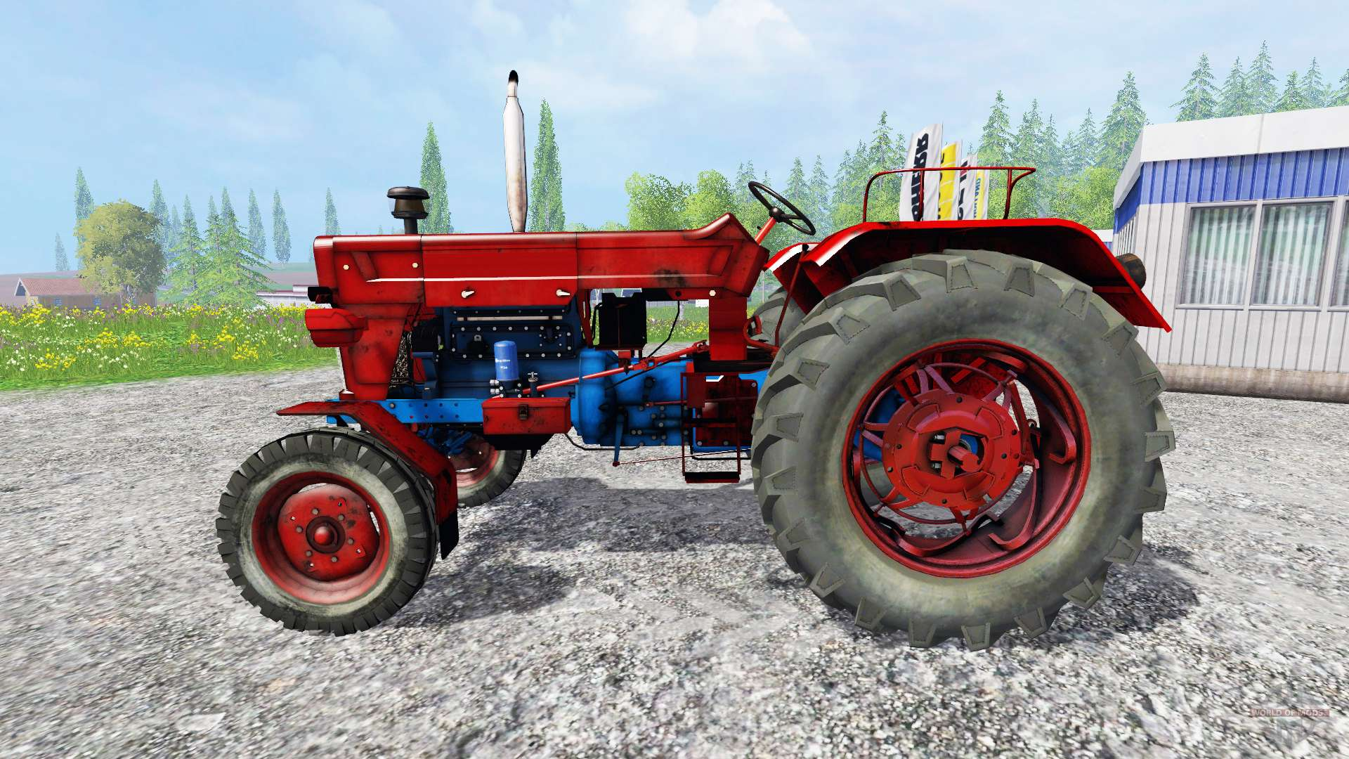 utb universal 650 without cabin for farming simulator 2015 rh worldofmods com Moline Universal Tractor Universal Tractor Cab Enclosures