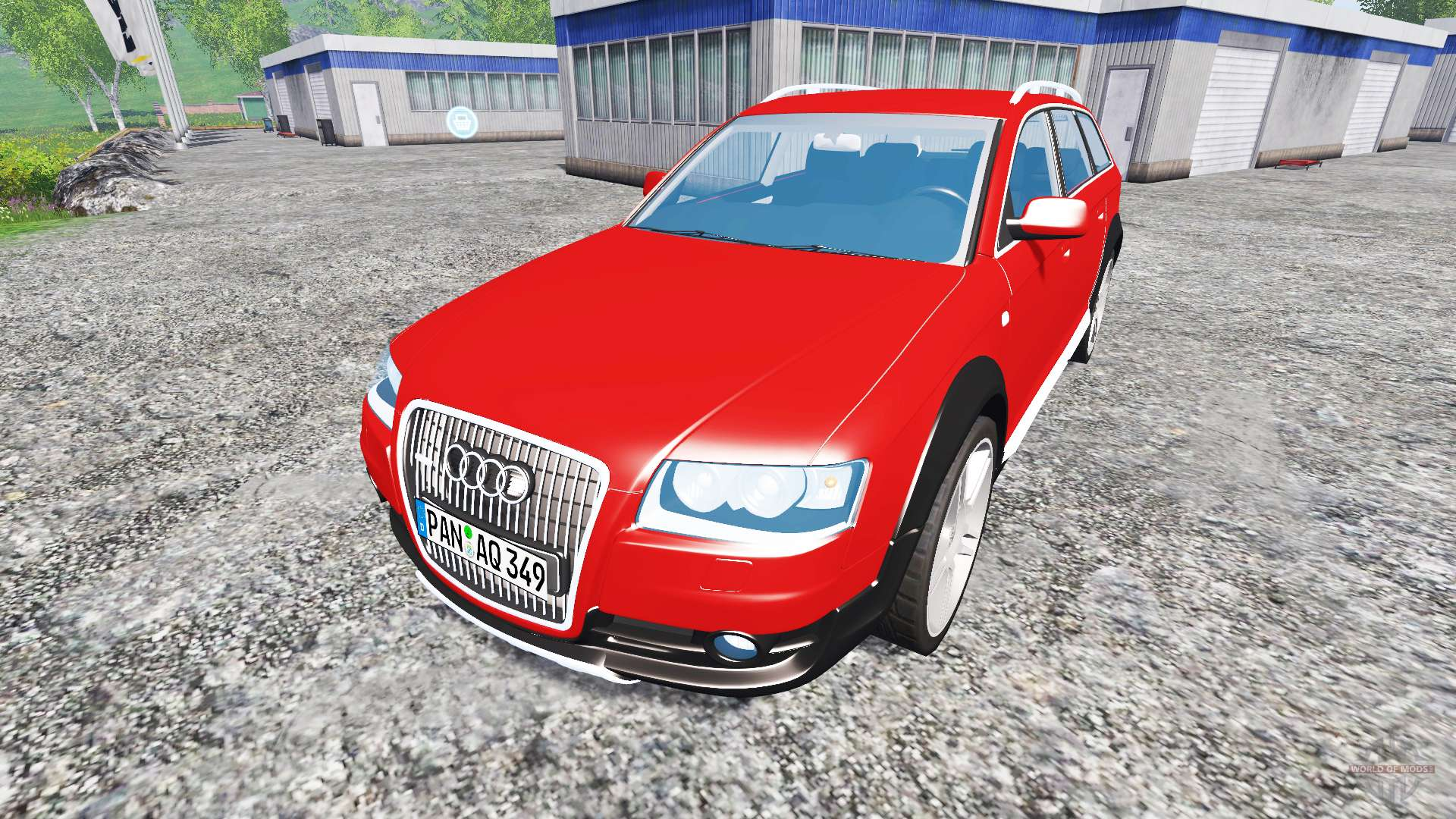 audi a6 c6 allroad for farming simulator 2015. Black Bedroom Furniture Sets. Home Design Ideas