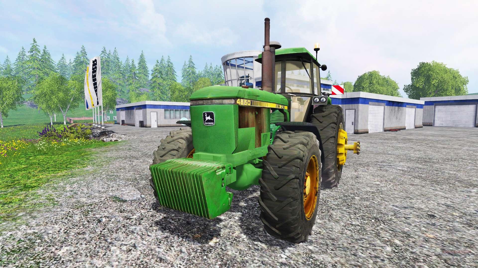 john deere 4650 v21 for farming simulator 2015
