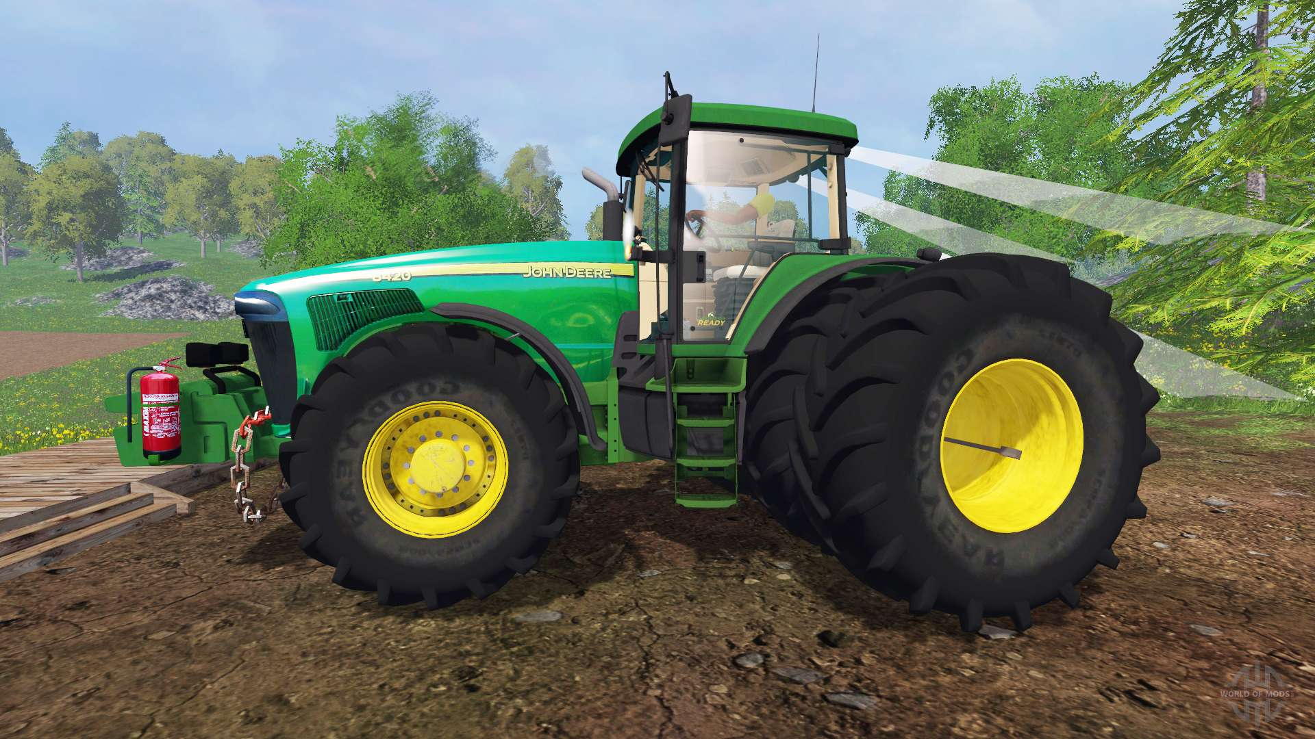 Farm Implement Pieces : John deere for farming simulator