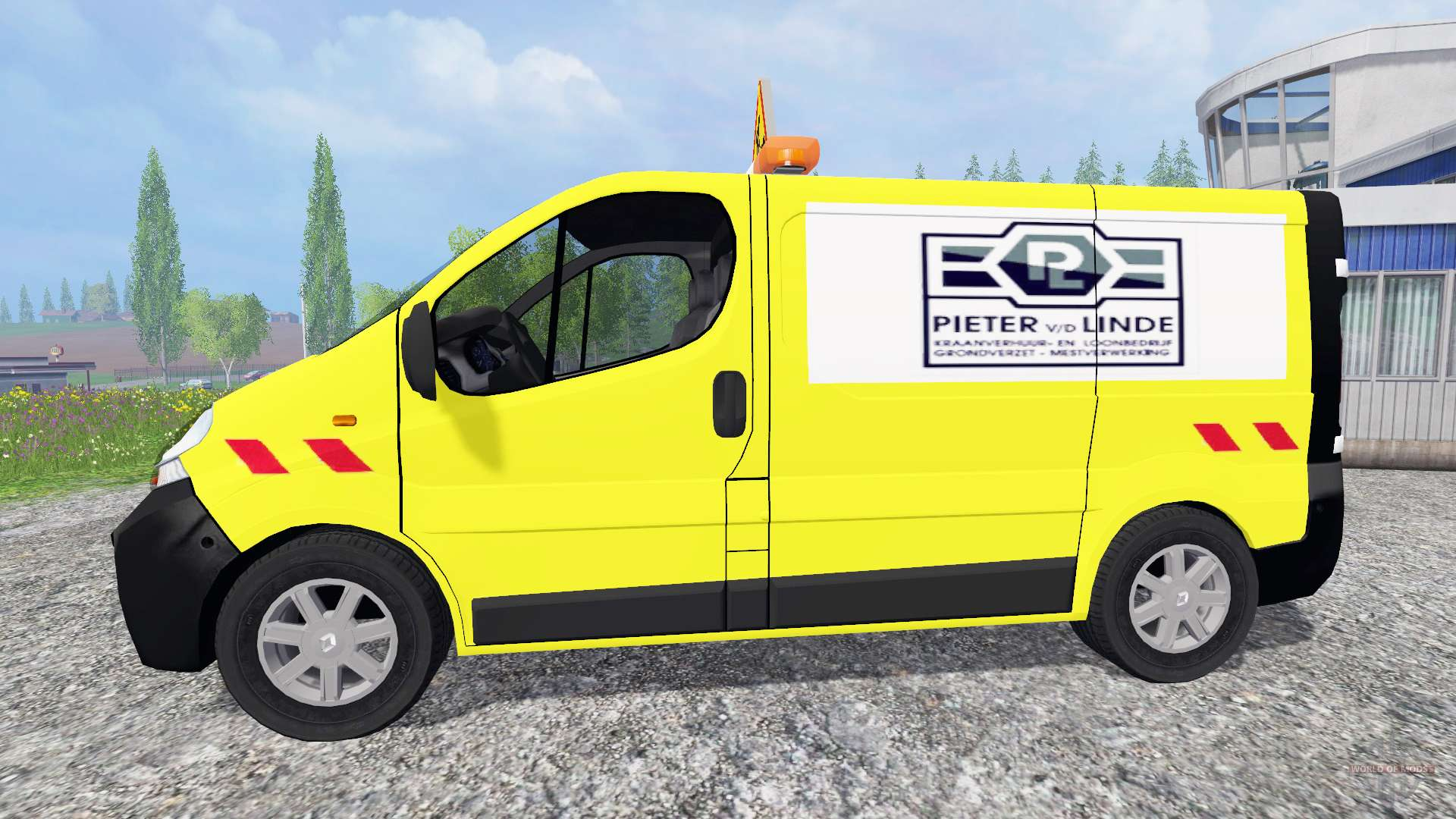 renault trafic pieter vd linde for farming simulator 2015. Black Bedroom Furniture Sets. Home Design Ideas
