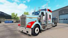 Skin San Francisco on the truck Kenworth W900 for American Truck Simulator