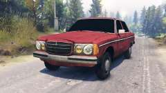 Mercedes-Benz 123d for Spin Tires