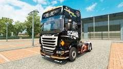 Skin Scania Black for tractor Scania for Euro Truck Simulator 2