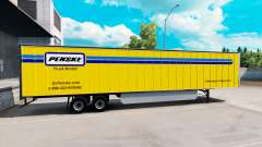 Penske skin for the trailer for American Truck Simulator