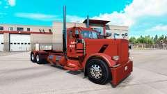 Skin Hawk Hauling for the truck Peterbilt 389 for American Truck Simulator