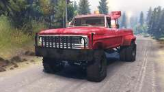 Ford F-200 1970 [Tow Truck] for Spin Tires