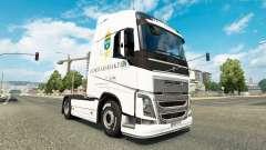 Forsvarsmakten skin for Volvo truck for Euro Truck Simulator 2