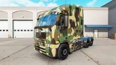 The skin Army on the truck Freightliner Argosy for American Truck Simulator