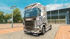 Batik Indonesia skin for Scania truck for Euro Truck Simulator 2