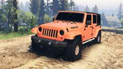 Jeep Wrangler Unlimited for Spin Tires