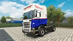 Yearsley skin for Scania truck for Euro Truck Simulator 2
