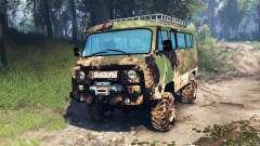 UAZ-2206 v4.0 for Spin Tires