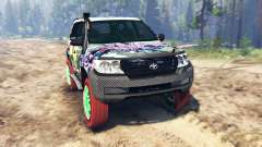Toyota Land Cruiser 200 [Monster Energy] for Spin Tires