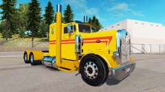 Yellow Custom skin for the truck Peterbilt 351 for American Truck Simulator