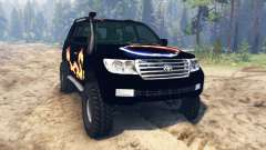 Toyota Land Cruiser 200 2008 for Spin Tires