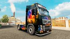 Skin Color Wall at Volvo trucks for Euro Truck Simulator 2