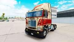 Skin on Sherman Bros truck Freightliner FLB for American Truck Simulator