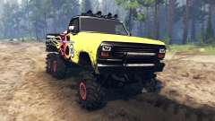 Ford F-100 6x6 custom v2.0 for Spin Tires