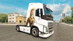Vikings skin for Volvo truck for Euro Truck Simulator 2