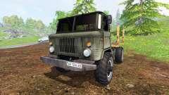 GAZ-66 [timber]