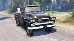 Chevrolet Apache 1959 v2.0 for Spin Tires