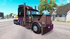 4 Metallic skin for the truck Peterbilt 389 for American Truck Simulator