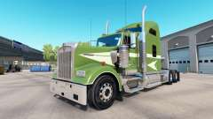 Skin Moving On the truck Kenworth W900 for American Truck Simulator