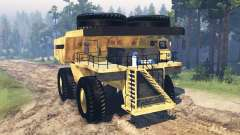 Mining truck Godzilla v2.0 for Spin Tires