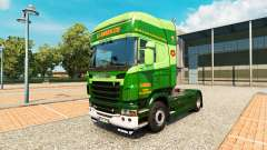 The S. J. Bargh skin for Scania truck for Euro Truck Simulator 2