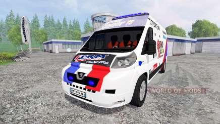 Peugeot Boxer [racing] for Farming Simulator 2015