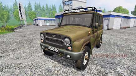 UAZ-315195 hunter for Farming Simulator 2015