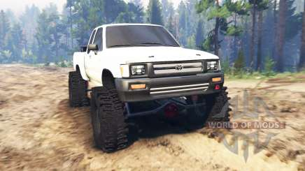 Toyota Hilux Extra Cab 1994 for Spin Tires