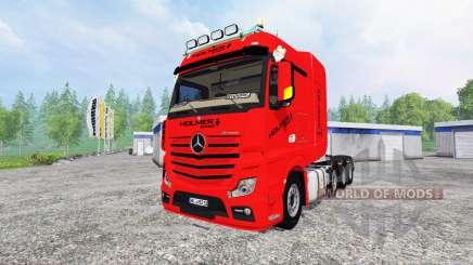Mercedes-Benz Actros MP4 SLT for Farming Simulator 2015
