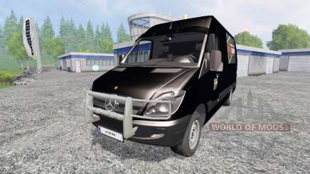 Mercedes-Benz Sprinter [Flexibouw] for Farming Simulator 2015