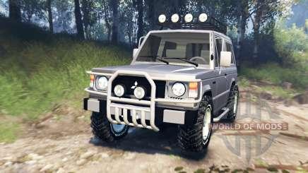 Mitsubishi Pajero I v3.0 for Spin Tires