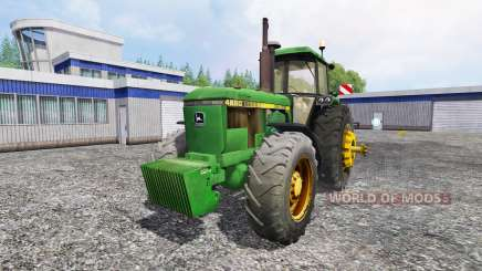 John Deere 4650 v2.0 for Farming Simulator 2015