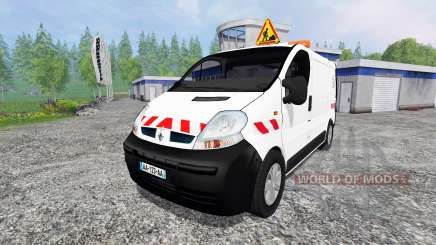 Renault Trafic ECV for Farming Simulator 2015