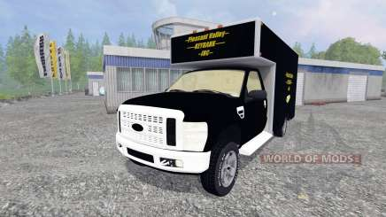 Ford F-250 [PV Rivers Goldtransporter] for Farming Simulator 2015